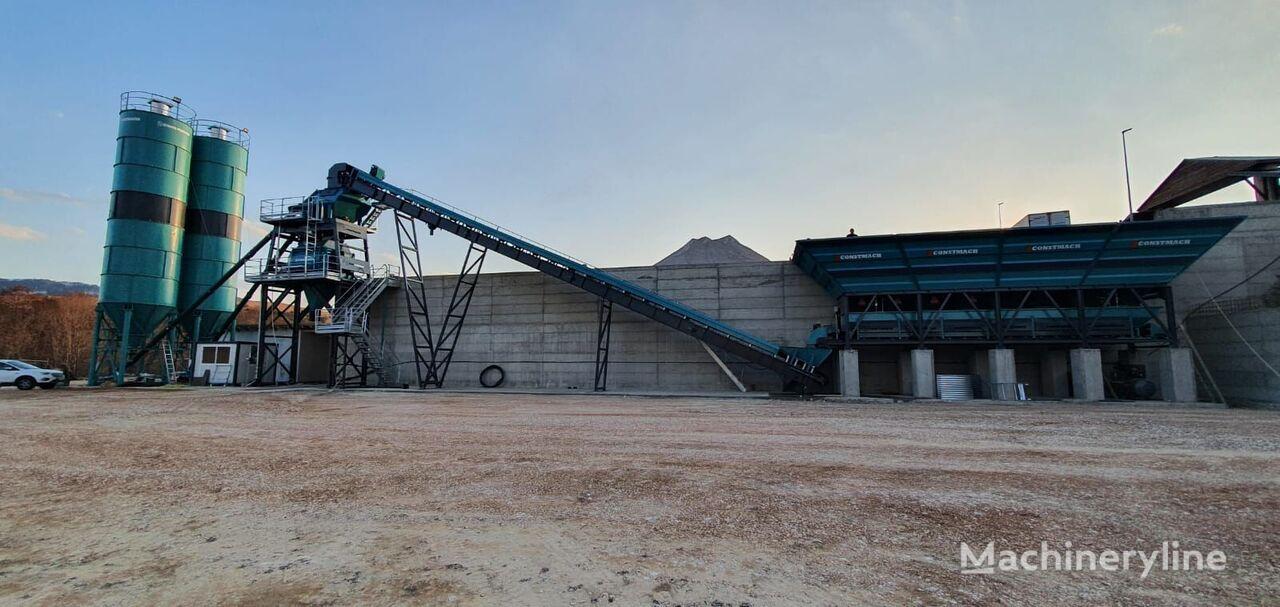 新混凝土厂 CONSTMACH 100 m3/h CAPACITY FIX TYPE CONCRETE PLANT