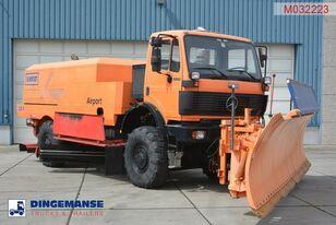 机场清扫车 MERCEDES-BENZ SK 2031 4x4x4 Schmidt CJS9 airport sweeper snow plough