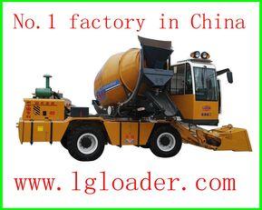 新铺装铺设机 selfloading concrete mixer