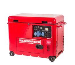 新柴油发电机 JAVAC 6,3 KVA, SD6500B Generator 230/380v 50hz