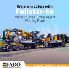 新破碎装置 FABO FULLSTAR-60 Crushing, Washing & Screening  Plant