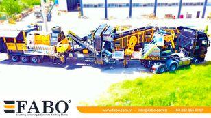 新移动式破碎装置 FABO FULLSTAR-60 Crushing, Washing & Screening  Plant