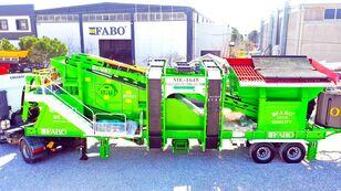 新移动式破碎装置 FABO ME 1645 SERIES MOBILE SAND SCREENING PLANT