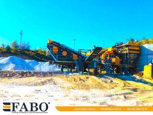 新移动式破碎装置 FABO MVSI 900 MOBILE VERTICAL SHAFT IMPACT CRUSHING SCREENING PLANT