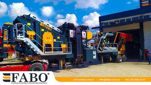 新移动式破碎装置 FABO PRO 90 MOBILE CRUSHING&SCREENING PLANT | 90-130 TPH