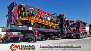 新移动式破碎装置 GENERAL MAKİNA GNR02 Mobile Stone Crushing