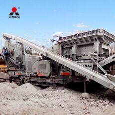 新移动式破碎装置 Liming 300tph Combined Mobile Road Building Crushers Machine